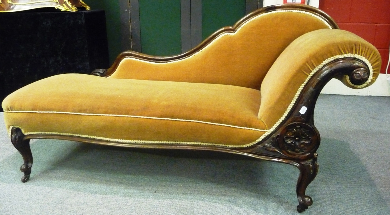 Victorian Chaises Pertaining To Widely Used Stunning Victorian Chaise Longue Images – Joshkrajcik (View 11 of 15)