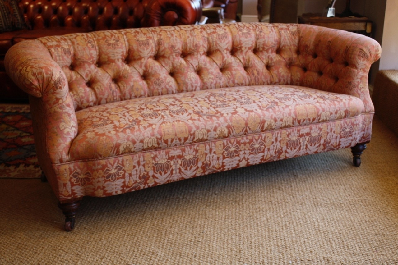Victorian 'ibsen' Antique Sofa, Leather Chairs Of Bath, Antique inside Newest Antique Sofas