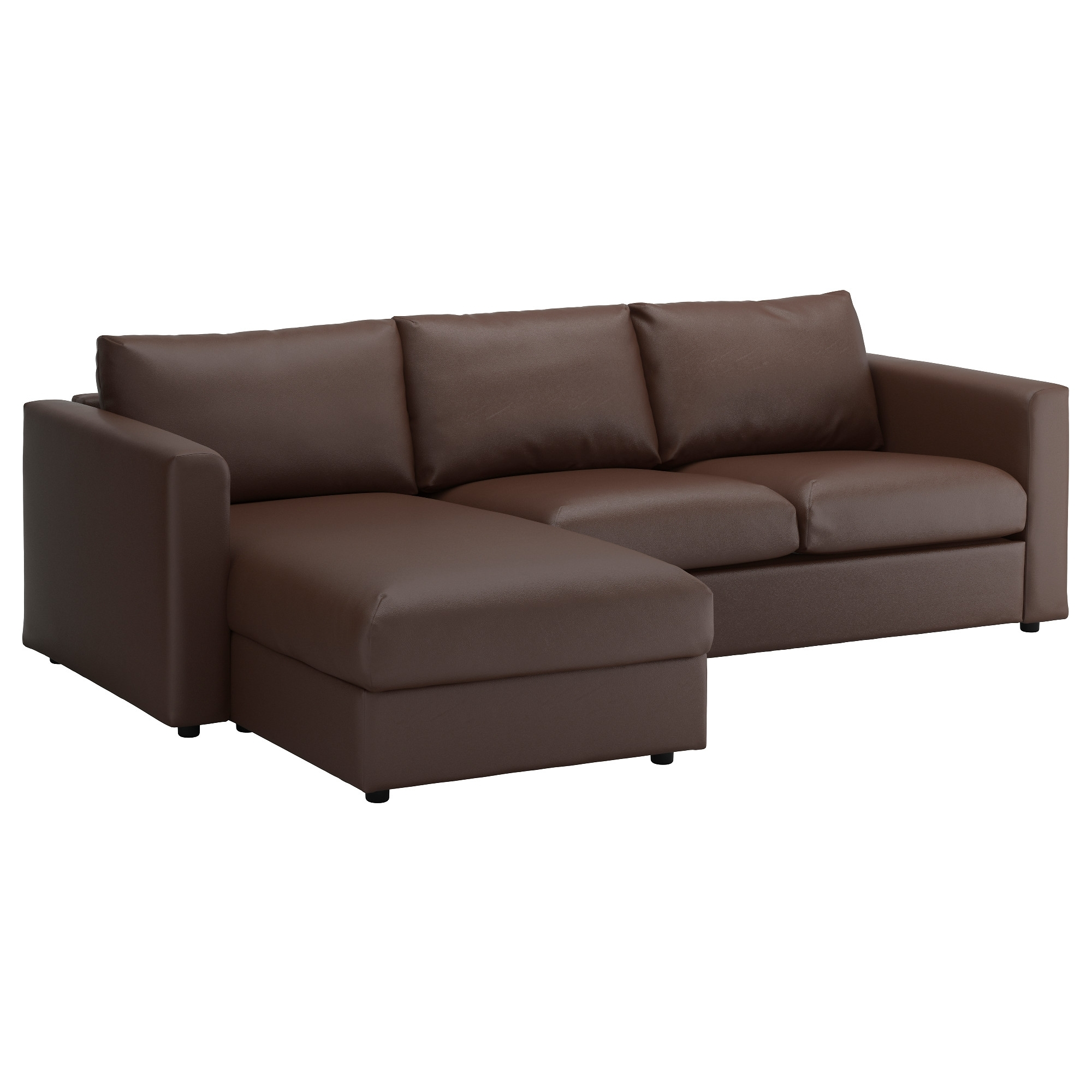 Vimle Sofa - With Chaise/gunnared Medium Gray - Ikea regarding Current Ikea Chaise Couches