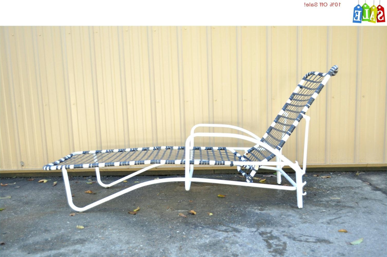 Vintage Aluminum Lounge Chairs • Lounge Chairs Ideas Pertaining To Famous Vintage Outdoor Chaise Lounge Chairs (View 2 of 15)