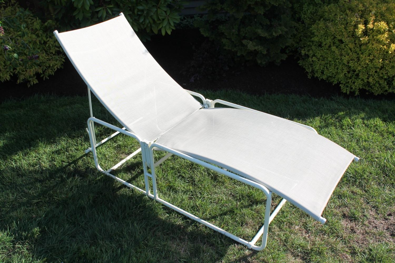 Vintage Brown Jordan Nomad Chaise Lounge Patio Chair – Haute Juice regarding Favorite Brown Jordan Chaise Lounge Chairs