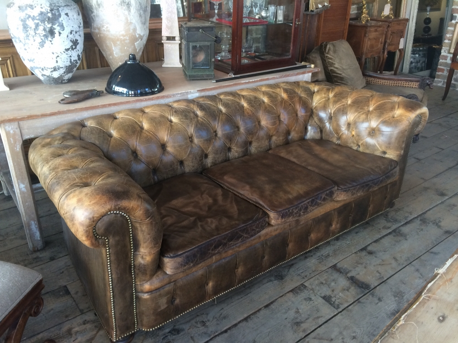 Vintage Chesterfield Sofas In Trendy Chesterfield Sofa In Furniture (View 8 of 15)