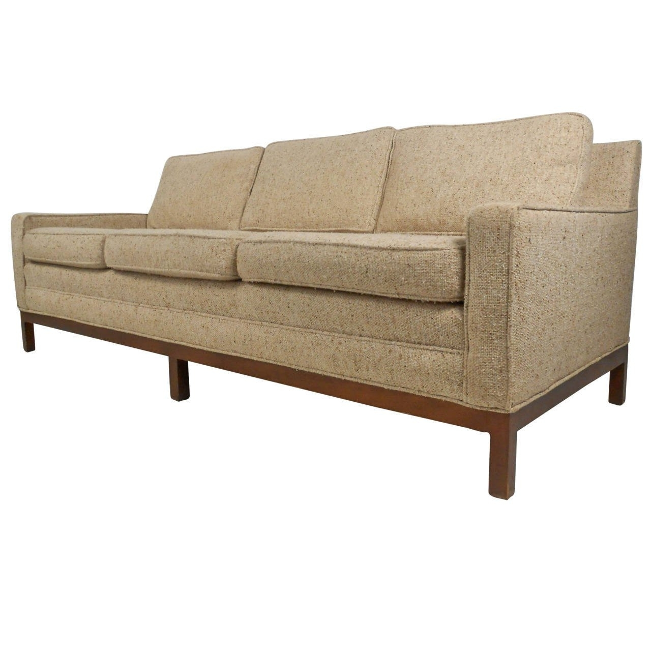 Vintage Modern Sofa After Florence Knoll For Sale At 1Stdibs With Regard To Trendy Florence Large Sofas (View 11 of 15)