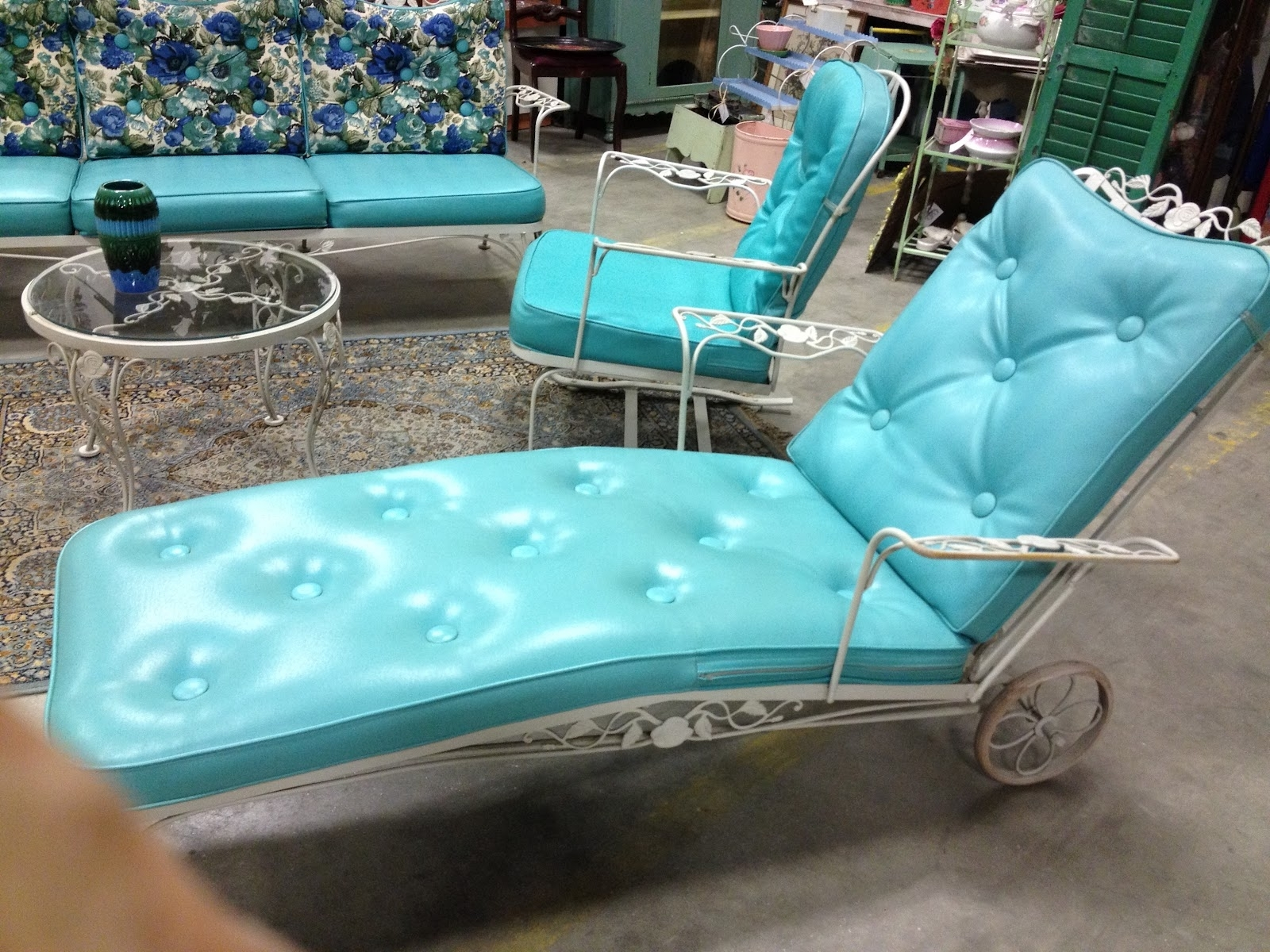 Vintage Outdoor Chaise Lounge Chairs With Regard To Fashionable C (View 9 of 15)