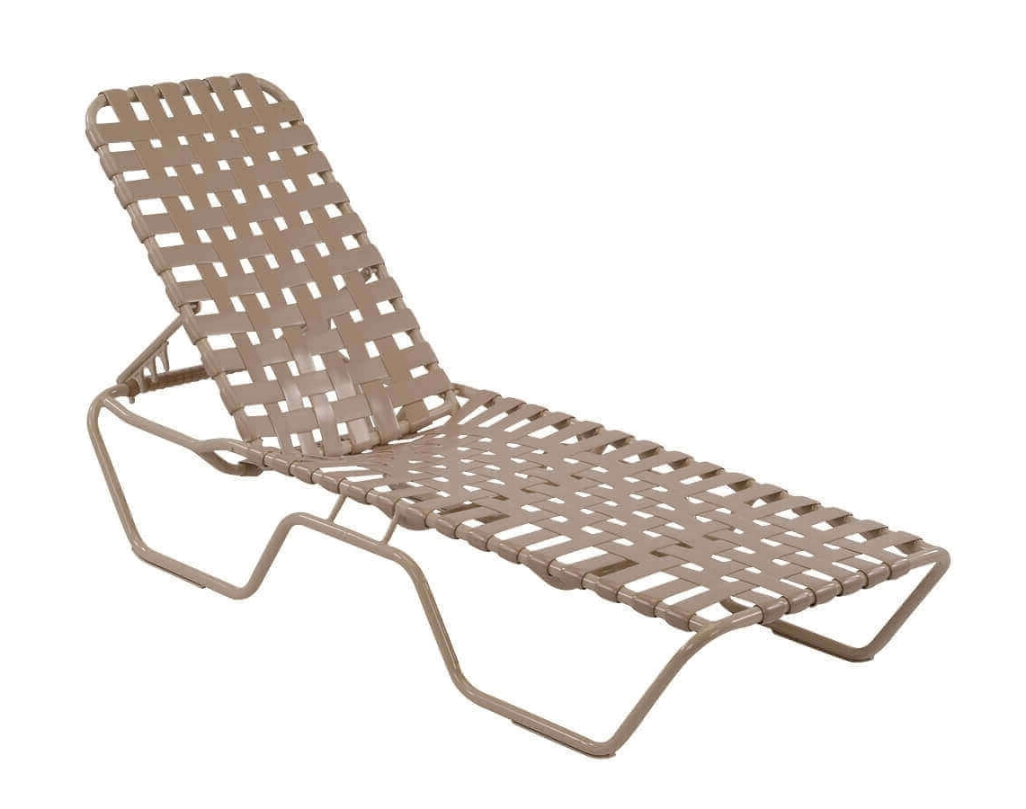 Vinyl Chaise Lounge Chairs With Regard To Preferred St (View 12 of 15)