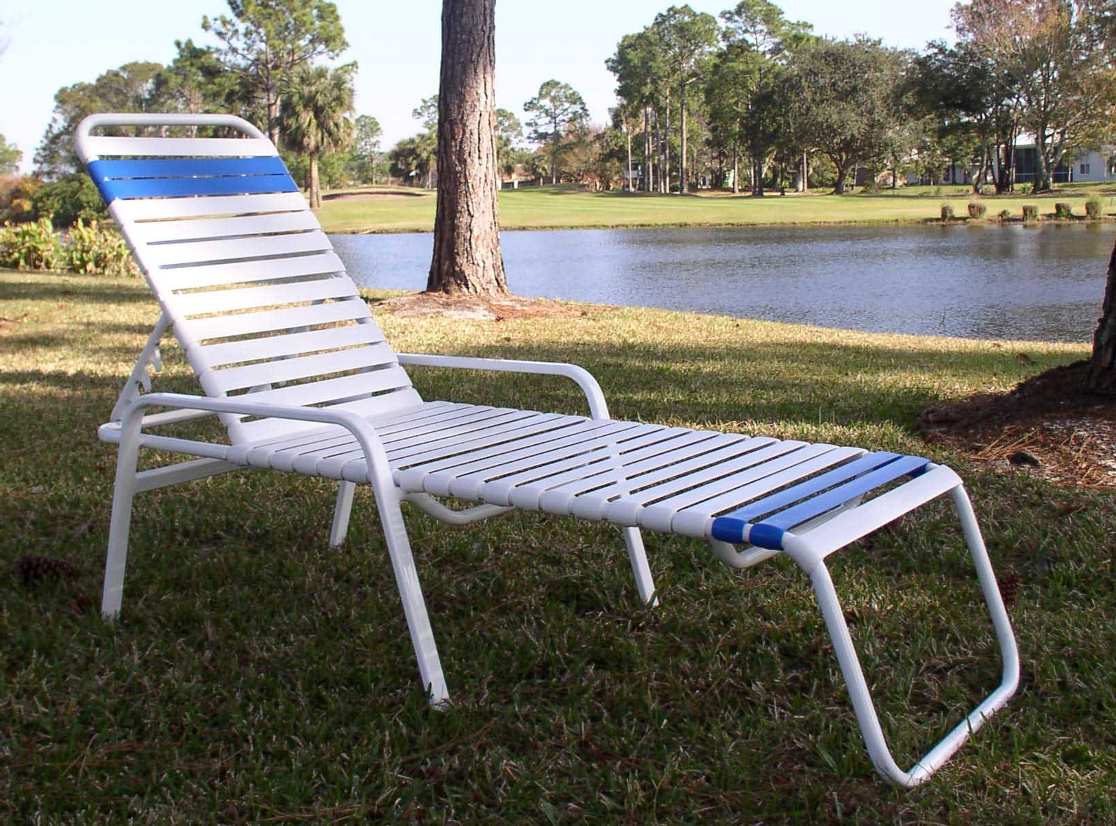 Vinyl Restrapping Your Atlanta Outdoor & Patio Furniture Throughout Most Up To Date Chaise Lounge Strap Chairs (View 10 of 15)