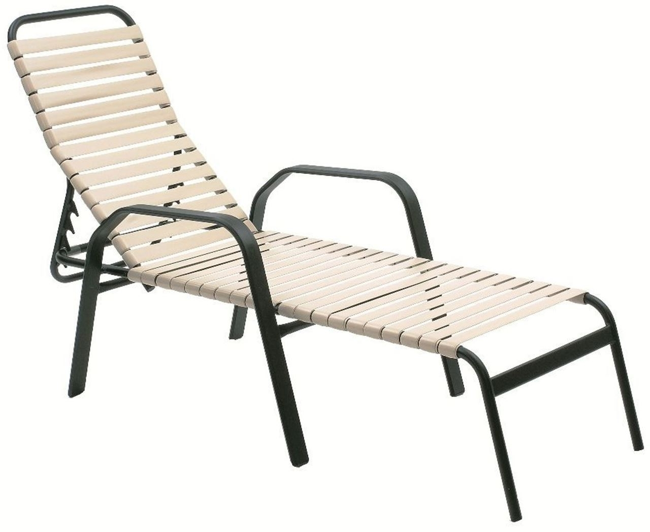 Vinyl Strap Chaise Lounge Chairs Pertaining To Most Current Vinyl Strap Chaise Lounge Chairs • Lounge Chairs Ideas (View 15 of 15)