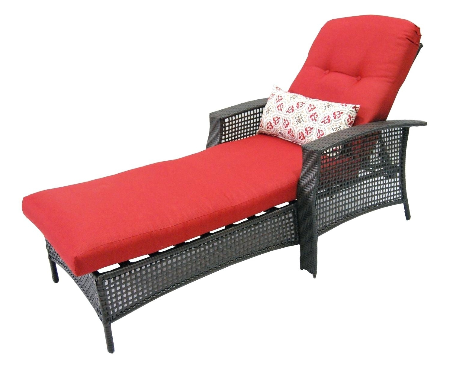 Walmart Chaise Lounge Cushions Double Cushion Outdoor Patio With Regard To Most Current Walmart Chaise Lounge Cushions (View 4 of 15)
