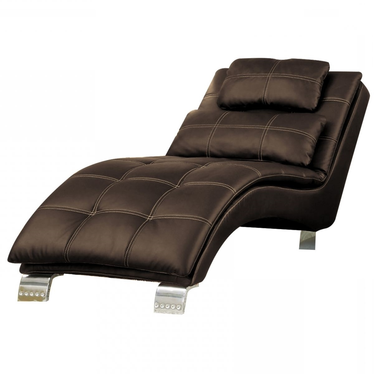 Walston Brown Chaise Lounge (View 15 of 15)