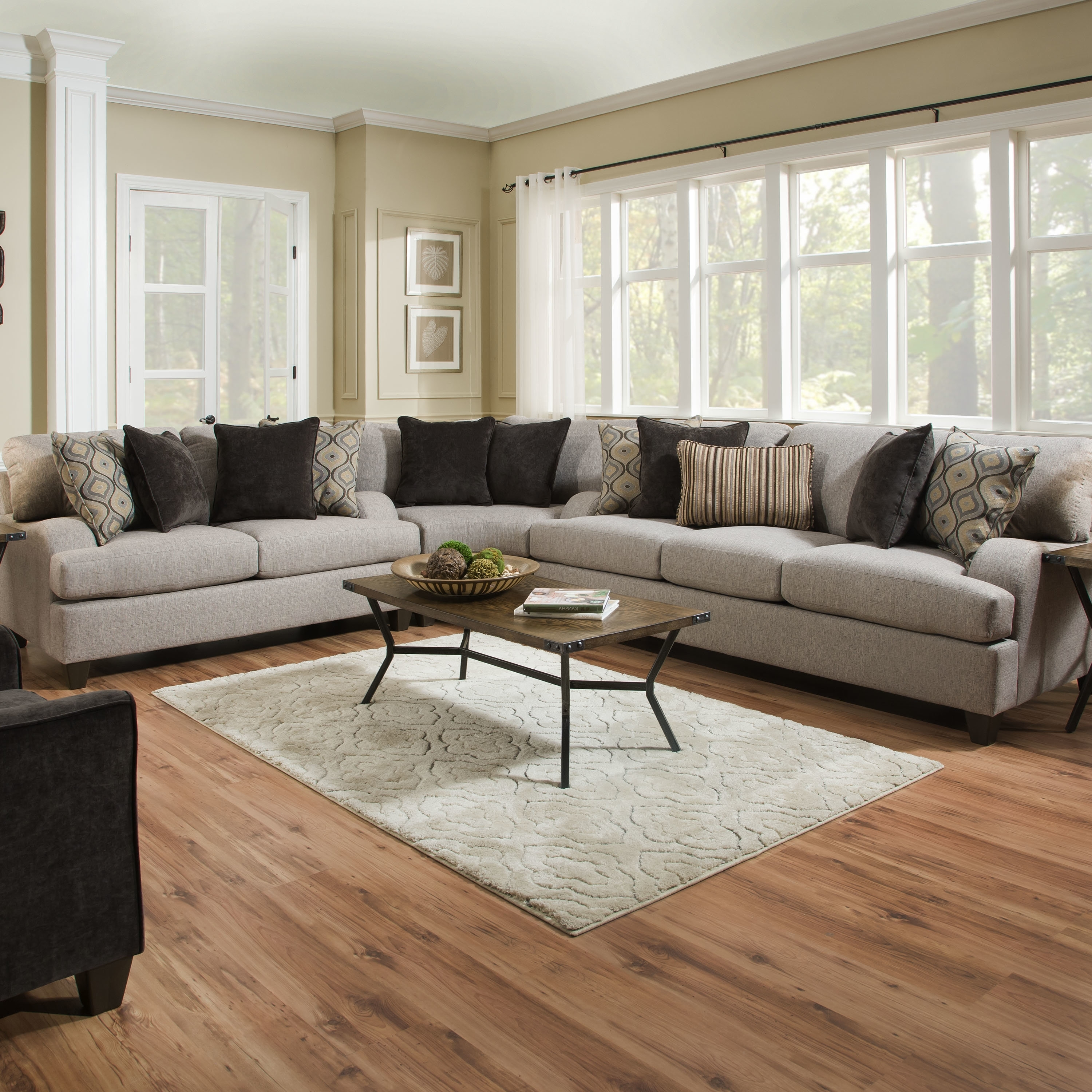 Wayfair For Large Sectional Sofas (View 12 of 15)