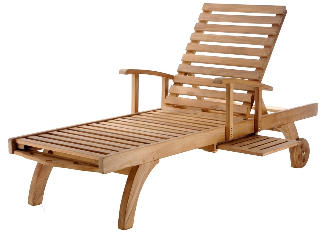 Wayfair Pertaining To Teak Chaise Lounges (View 8 of 15)