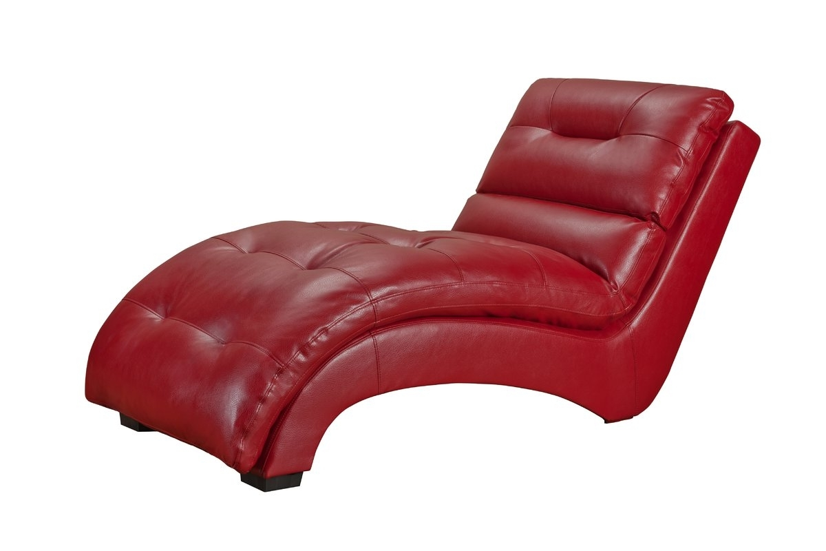 Wayfair Regarding Famous Red Leather Chaises (View 13 of 15)
