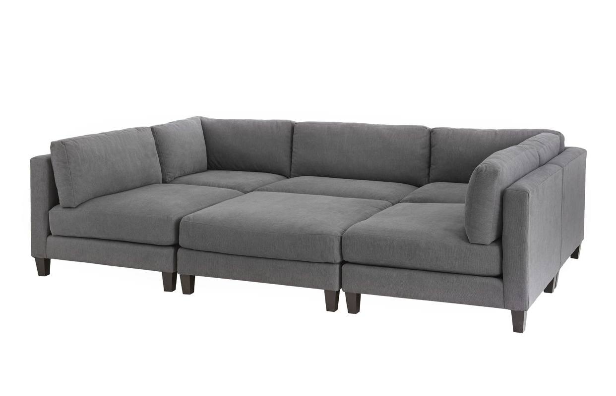 Wayfair Sectional Sofas Throughout Well Liked Homesean & Catherine Lowe Chelsea Modular Sectional & Reviews (View 13 of 15)