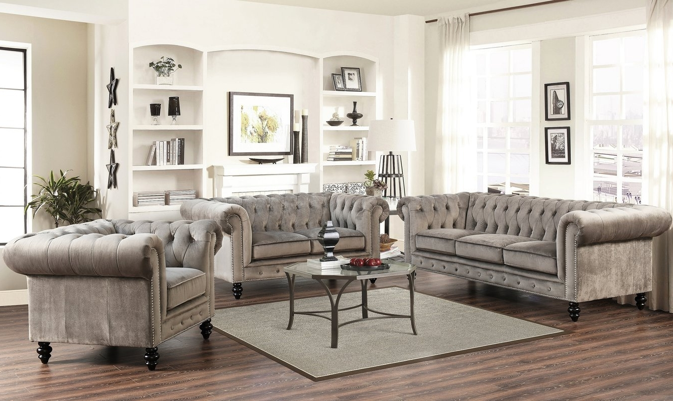 Wayfair With Most Recently Released Chesterfield Sofas And Chairs (View 15 of 15)