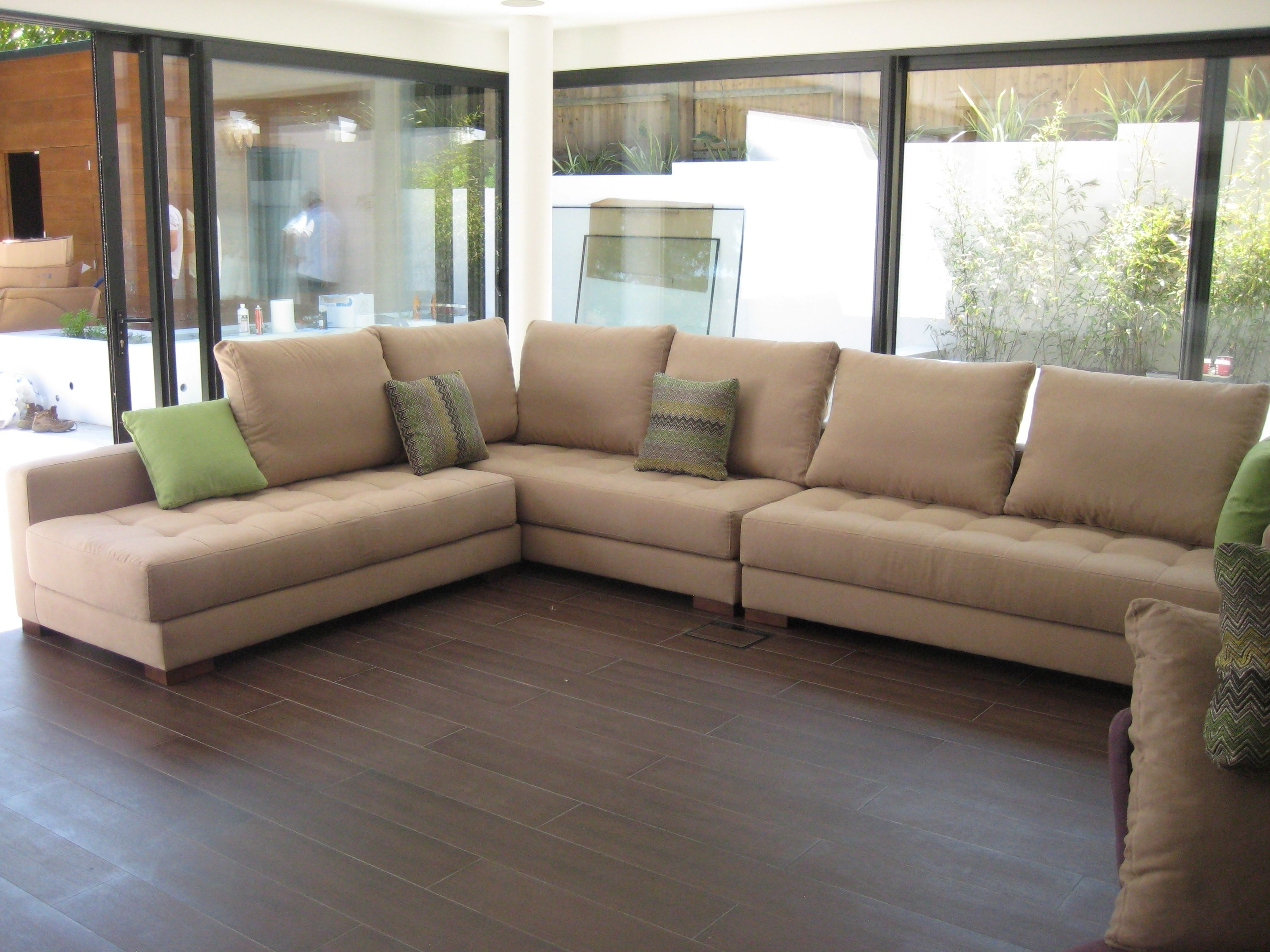 Well Known 100X100 Sectional Sofas With Regard To Yecla Sectional Sofa Modules – In Romo Linara Fabrics (View 2 of 15)