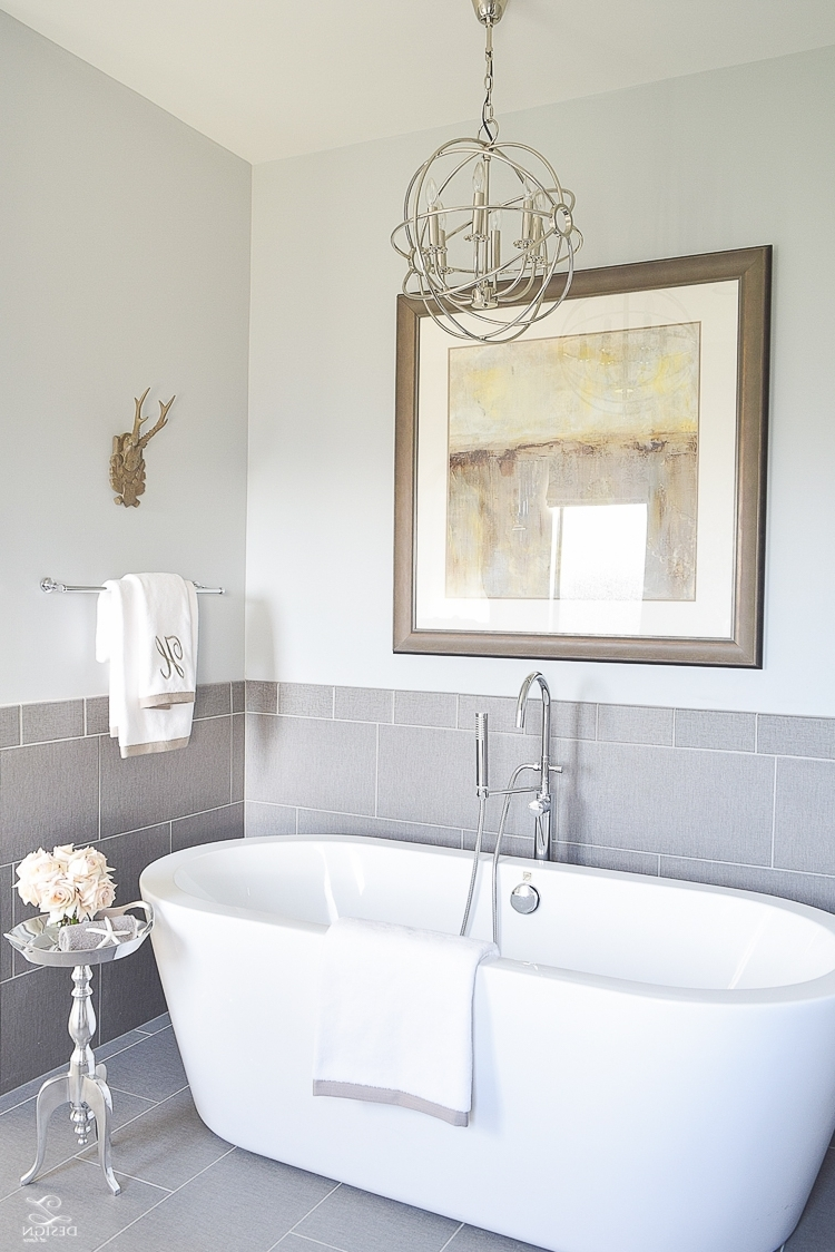 Well Known 3 Simple Tips For Mixing & Matching Light Fixtures – Zdesign At Home Inside Bathroom Lighting With Matching Chandeliers (View 4 of 15)