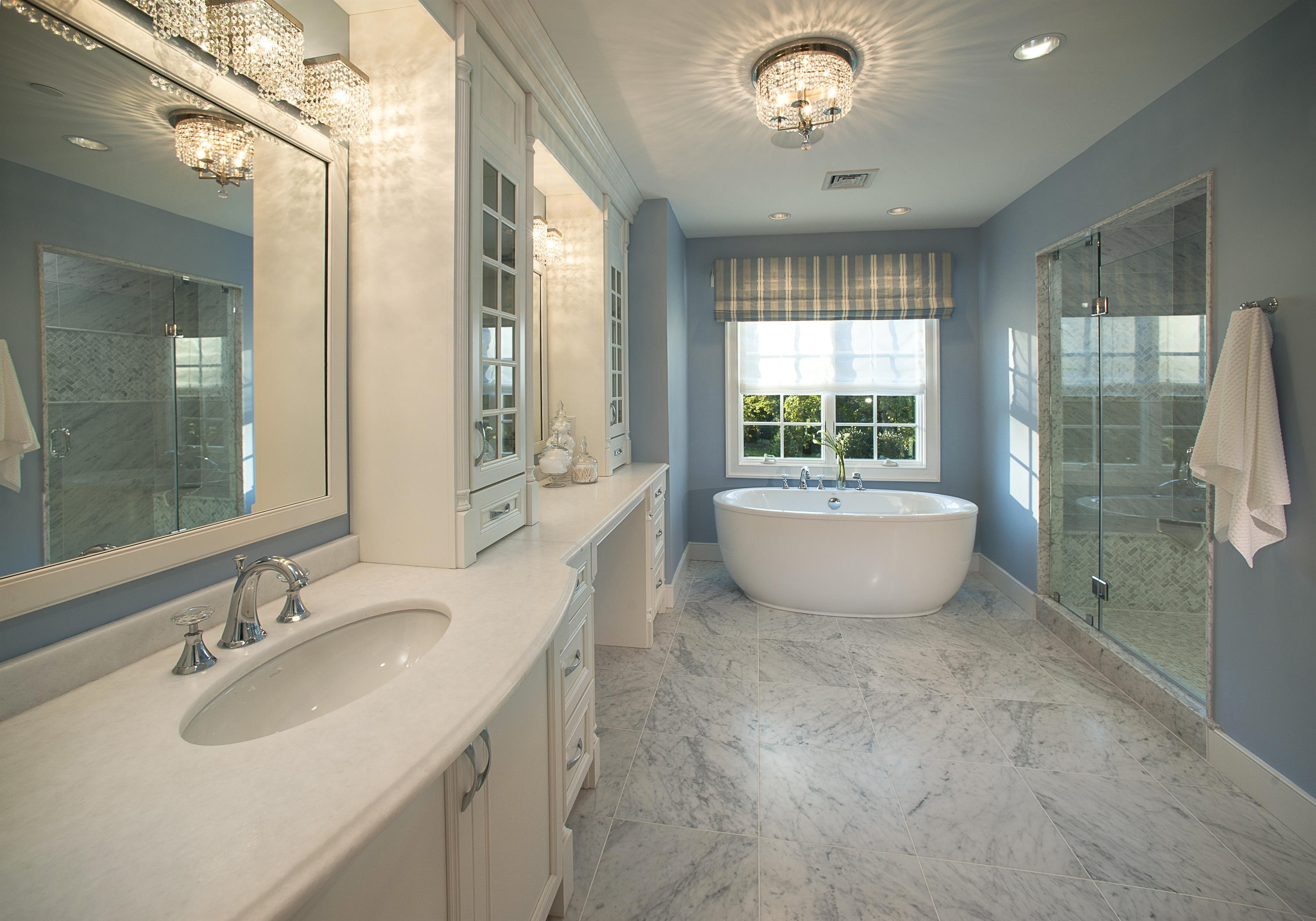 Well Known Bathroom Ceiling Light Ideas And Paul Neuhaus Bubbles Led Lights Of Pertaining To Chandelier Bathroom Ceiling Lights (View 15 of 15)