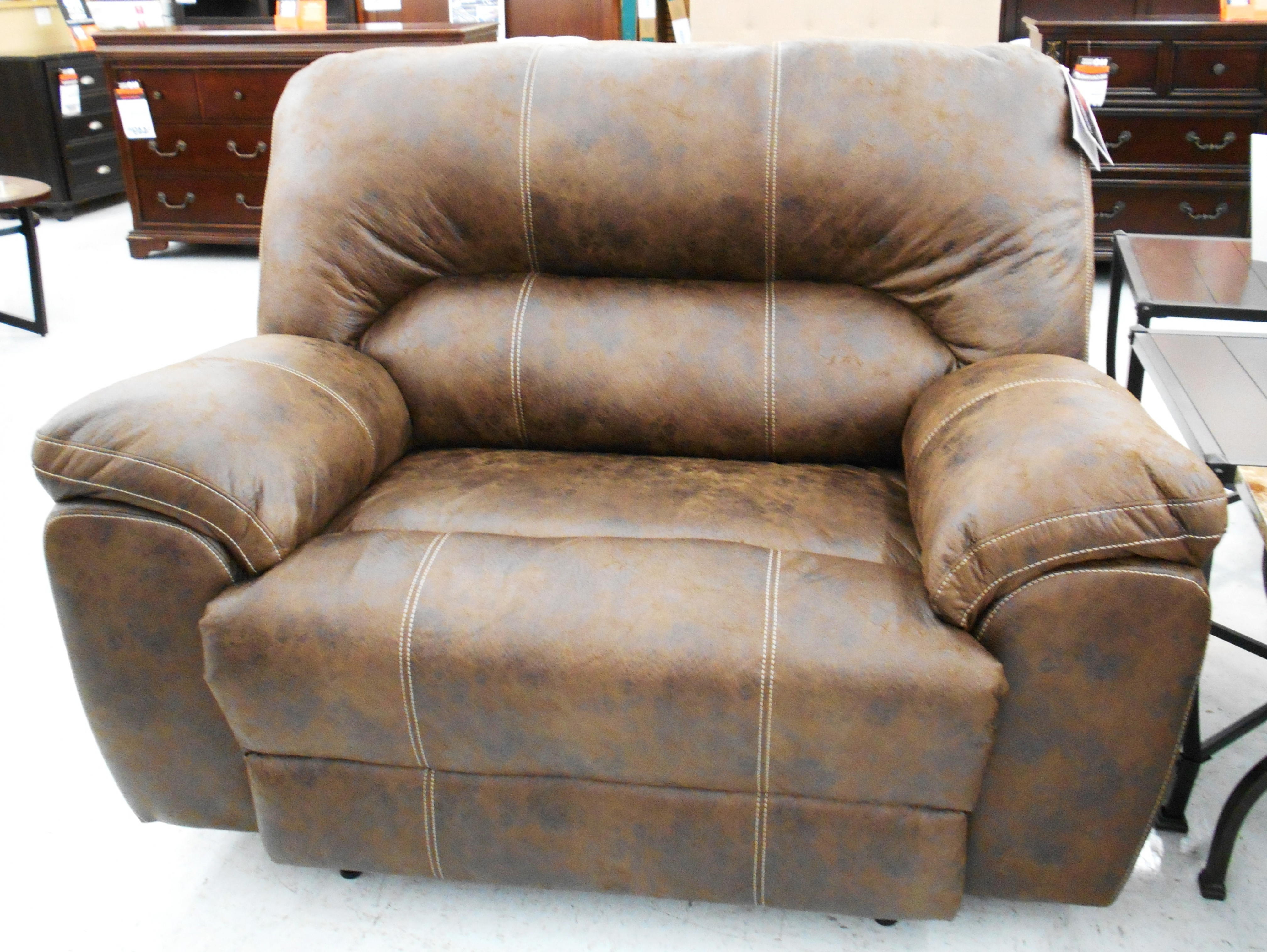 Well Known Big Lots Sofas With Furniture: Stratolounger Stallion Snuggle Up Recliner $ (View 14 of 15)