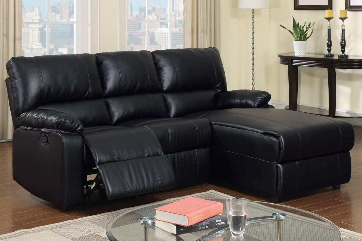 Well Known Black Leather Sectional With Chaise Sectional Sofas With Recliners With Regard To Chaise Recliners (View 13 of 15)
