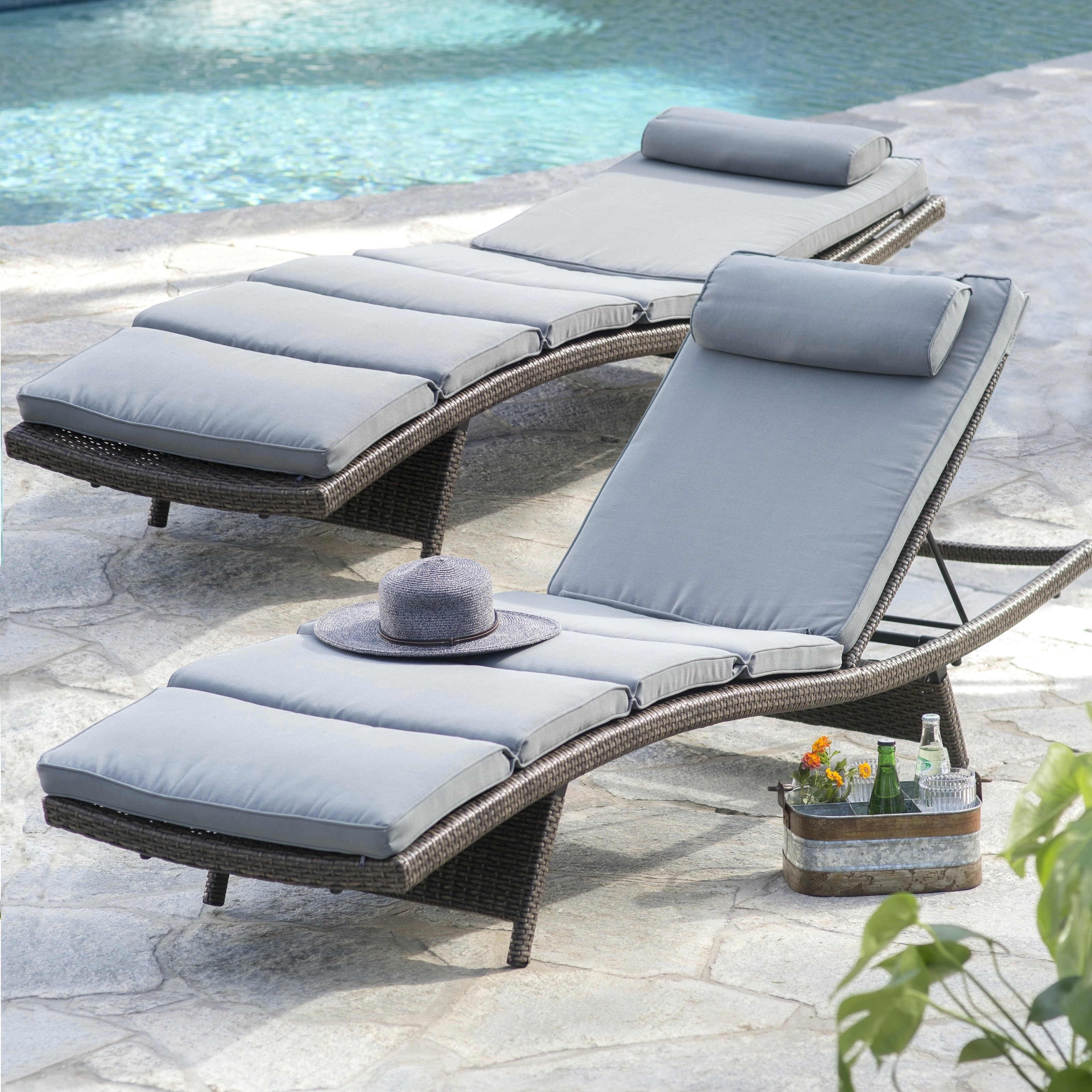 Well Known Boca Chaise Lounge Outdoor Chairs With Pillows Inside Boca Chaise Lounge Chair Outdoor Pillow • Lounge Chairs Ideas (View 11 of 15)