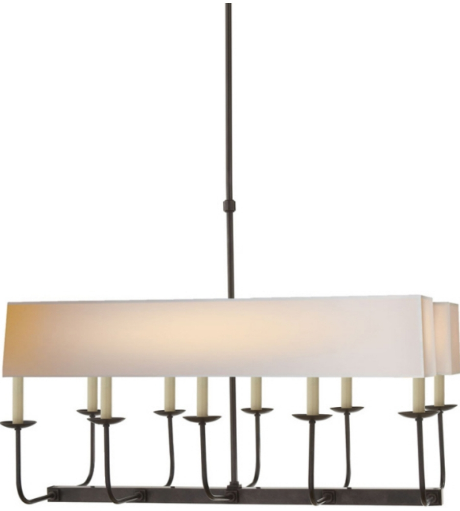 Well Known Branched Chandelier With Visual Comfort Sl 5863Bz Np2 E. F (View 5 of 15)