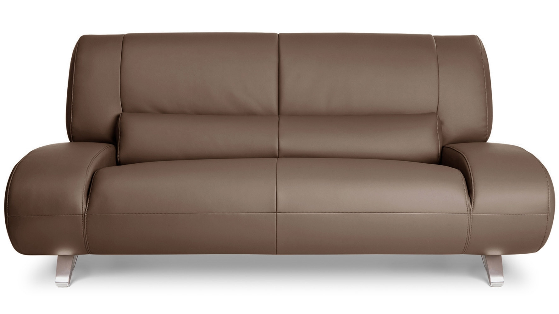 Well Known Brown Aspen Leather Sofa Set With Loveseat And Chair (View 13 of 15)