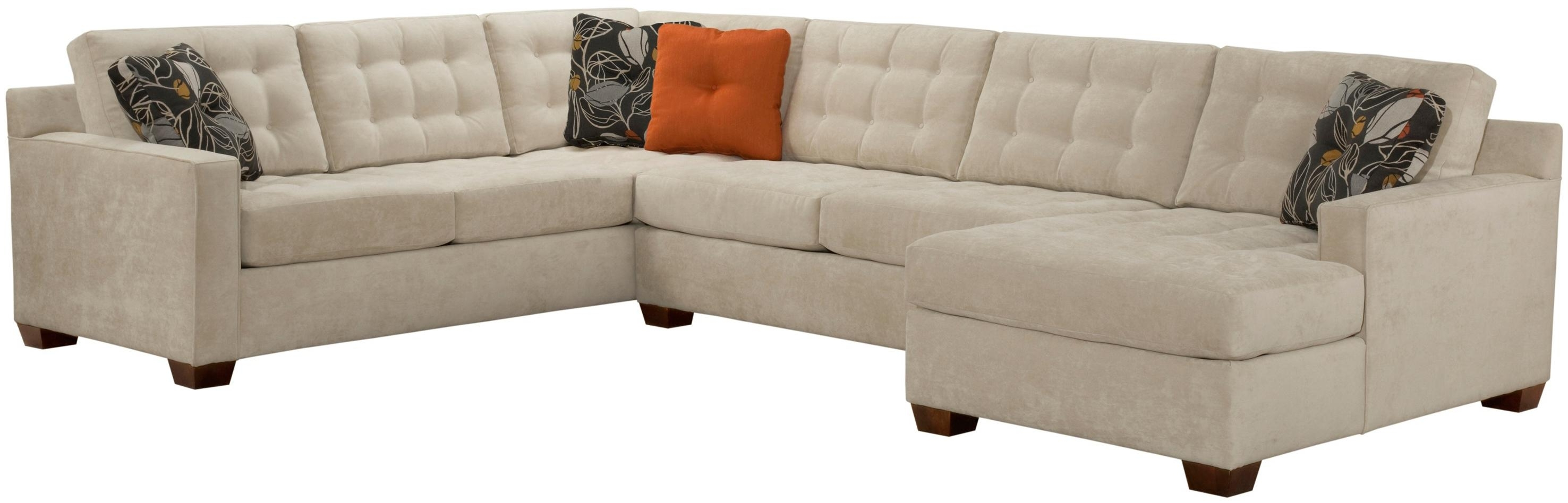 Well Known Broyhill Sectional Sofas Intended For Broyhill Furniture Tribeca Contemporary Sectional Sofa With Left (View 9 of 15)