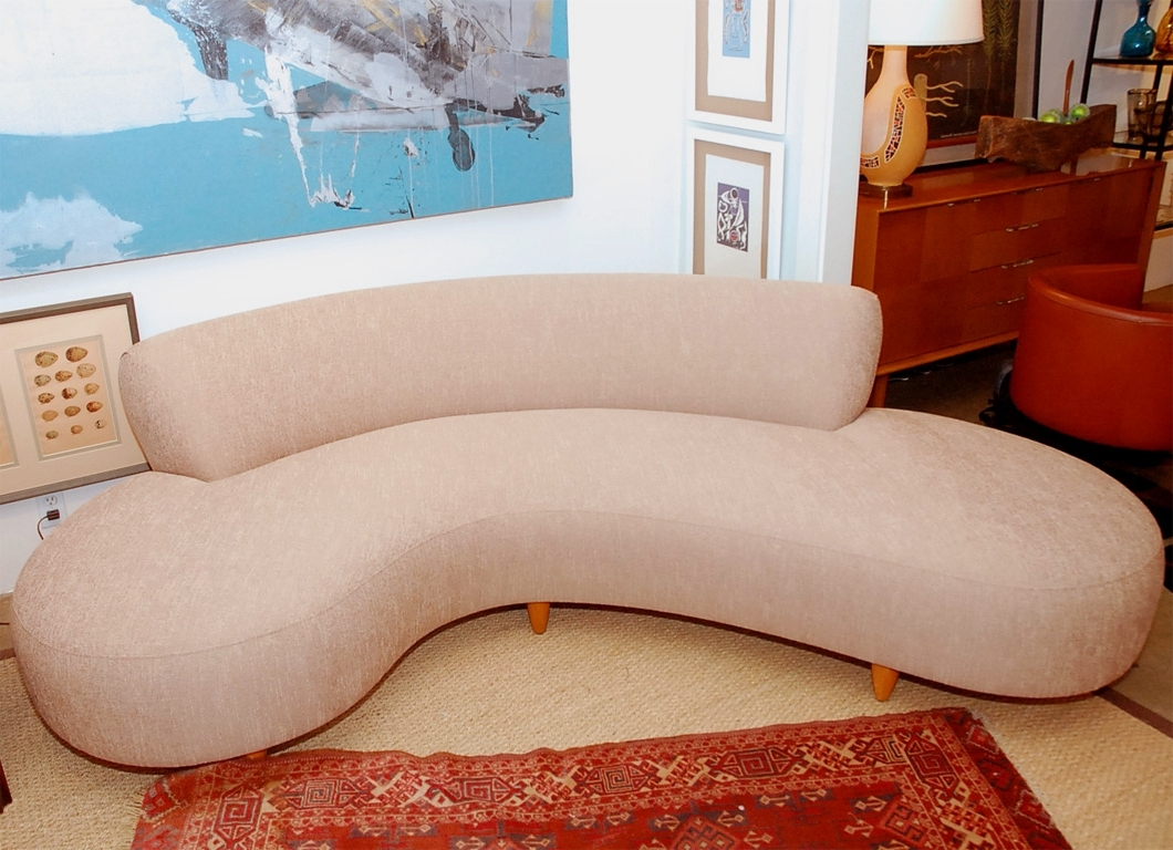 Well Known C Shaped Sofas Regarding C Shaped Sofa – Materialwant (View 7 of 15)