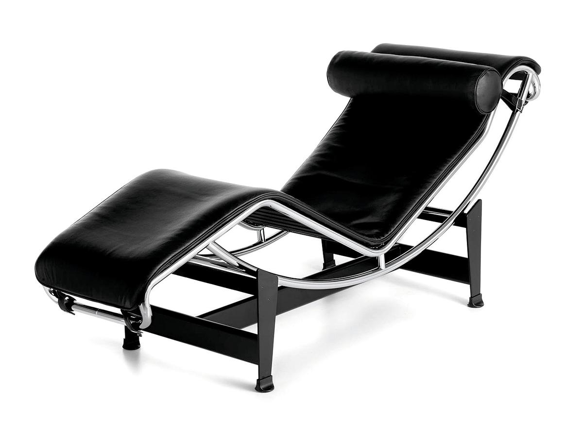 Well Known Cassina Lc4 Chaise Longuele Corbusier, Pierre Jeanneret Regarding Brown Chaise Lounge Chair By Le Corbusier (View 14 of 15)
