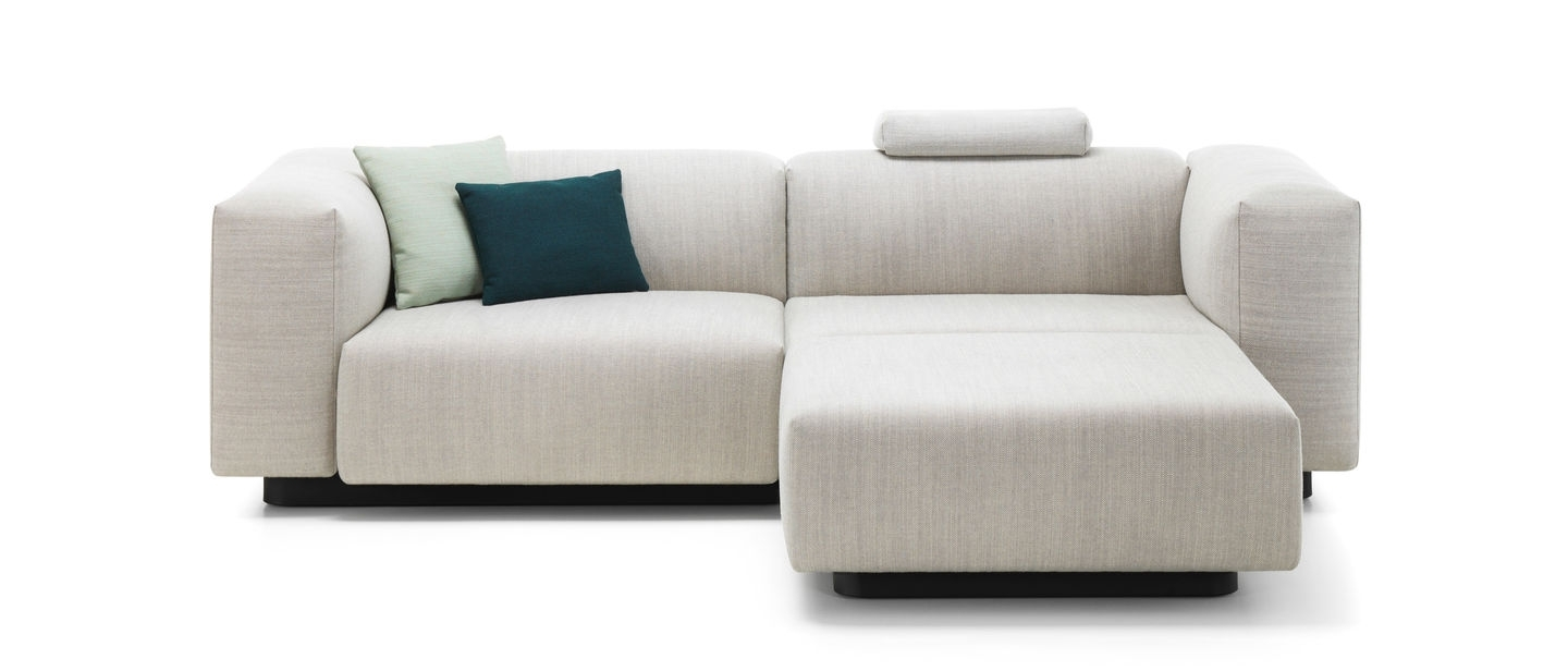 Well Known Chaise Lounge Couches Within Vitra (View 8 of 15)
