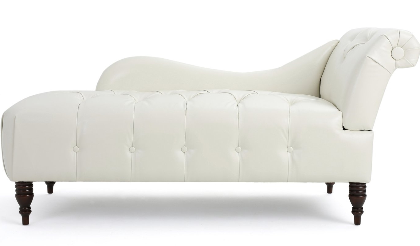 Well Known Chaise Lounges In Mercer41 Hurd Chaise Lounge & Reviews (View 14 of 15)