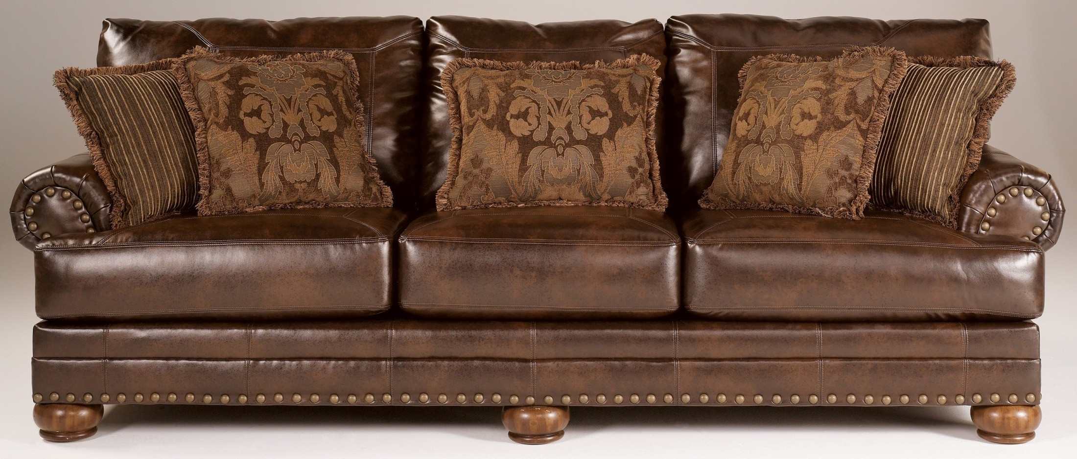 Well Known Chaling Durablend Antique Sofa From Ashley (9920038) (View 14 of 15)