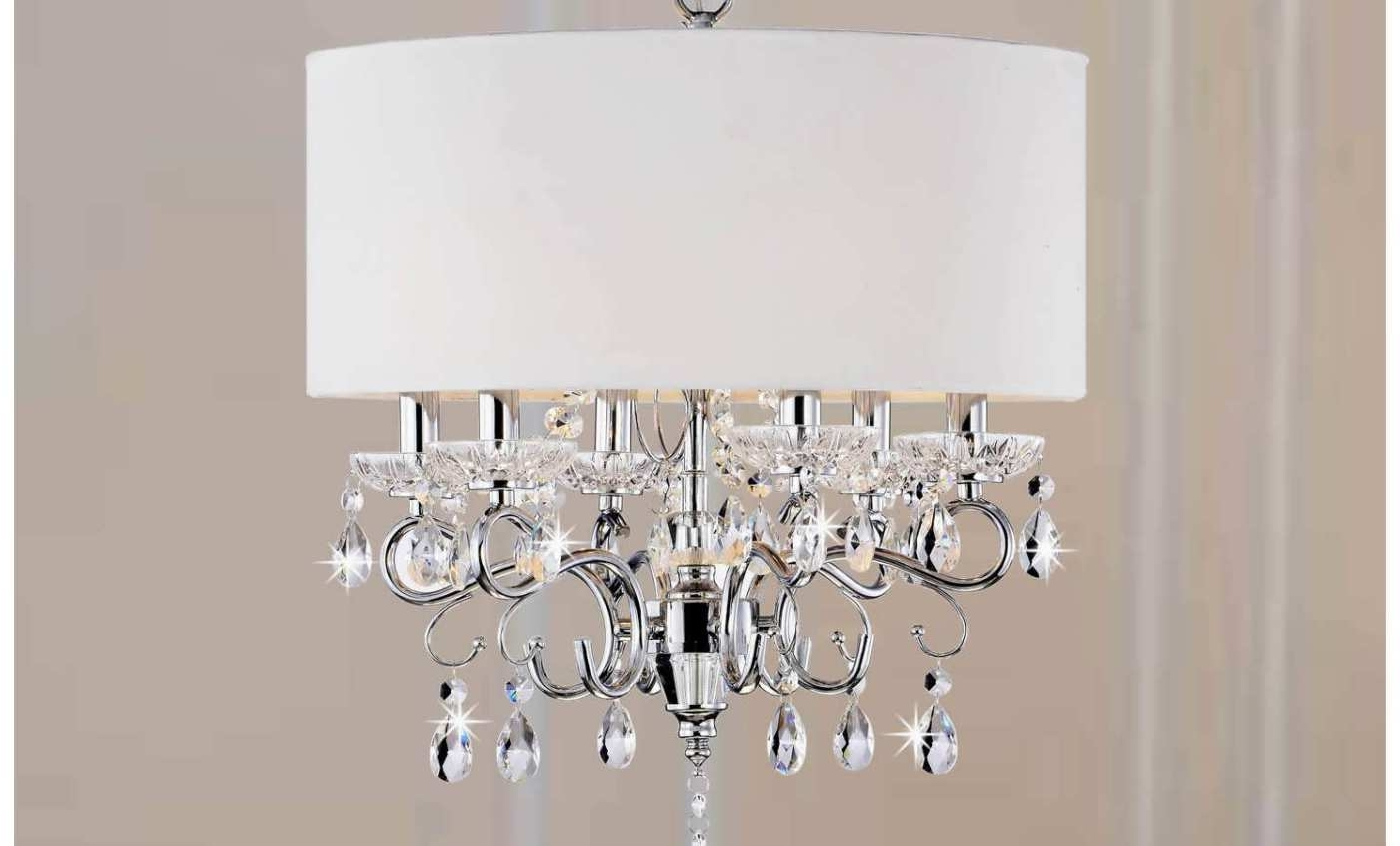 Well Known Chandelier : 5 Linen Drum Chandelier Shade Amazing Clip On Drum Regarding Clip On Drum Chandelier Shades (View 6 of 15)