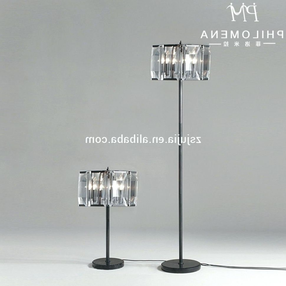 Well Known Chandeliers Design : Wonderful Chandelier Standing Lamp Crystal For Chandelier Standing Lamps (View 14 of 15)