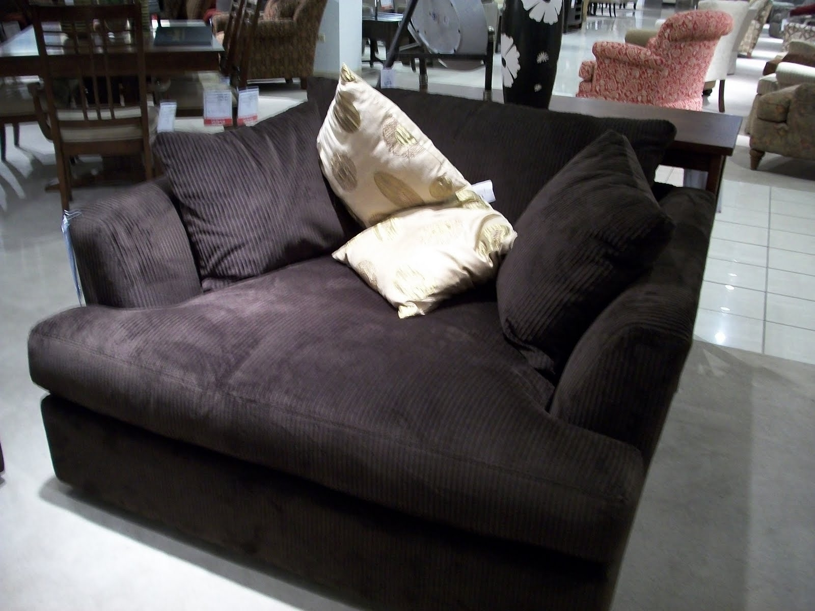 Well Known Charcoal Velvet Wide Chaise Chair With Modern Armrest Of Throughout Wide Chaise Lounges (View 8 of 15)
