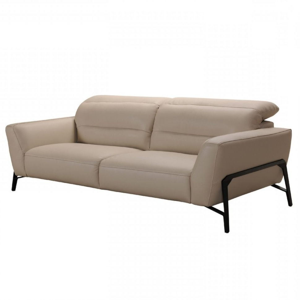 Well Known Clarksville Tn Sectional Sofas Within Sofa : Divani Casa Evora Modern Taupe Leather Sofaair Set And (View 13 of 15)