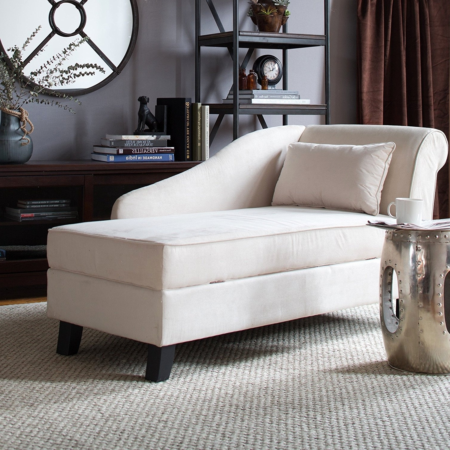 Well Known Convertible Chair : Lounge Chaise Lounge Furniture Oversized Inside Double Wide Chaise Lounges (View 8 of 15)
