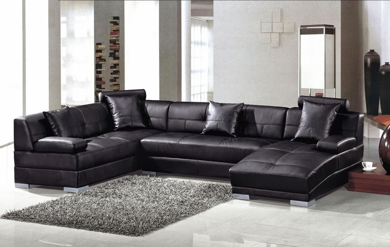 Well Known Couch With Chaise: Leather Couch With Chaise Lounge Intended For Leather Couches With Chaise (View 12 of 15)