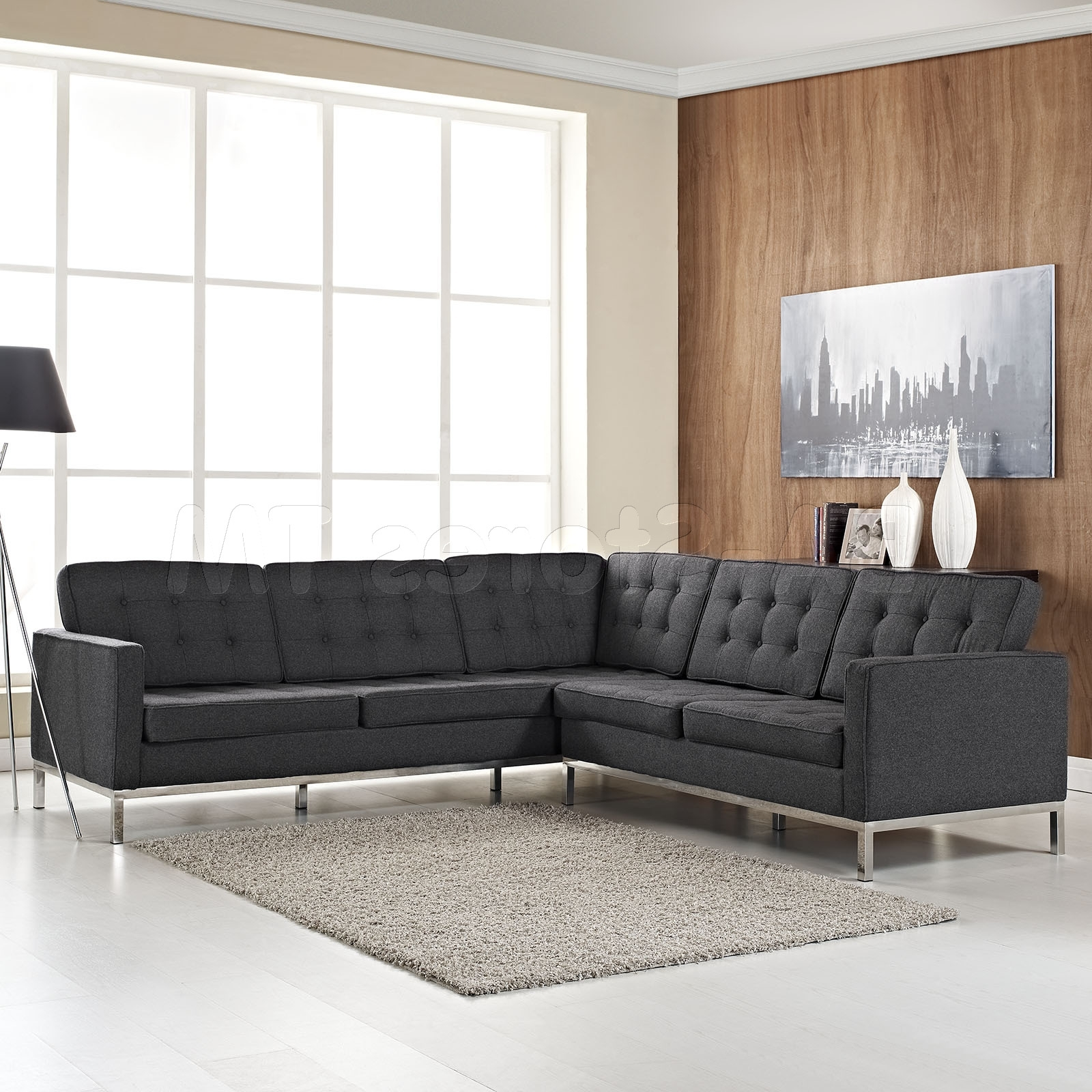 Well Known Couches Design New In Impressive Reversible Sectional Sofa Chaise Regarding Affordable Tufted Sofas (View 4 of 15)