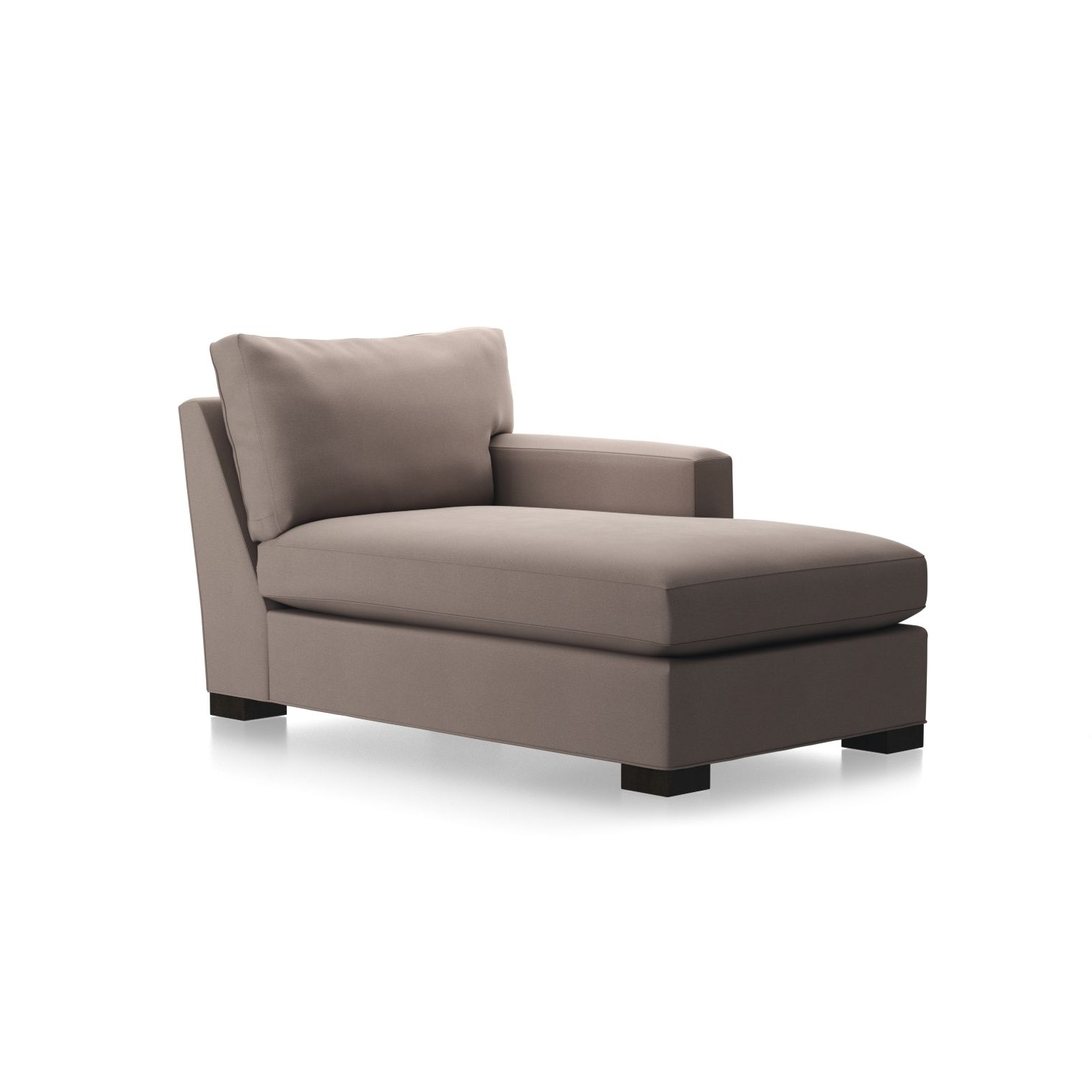 Well Known Crate And Barrel Chaises Within Axis Ii Left Arm Chaise Lounge In Chaises + Reviews (View 7 of 15)