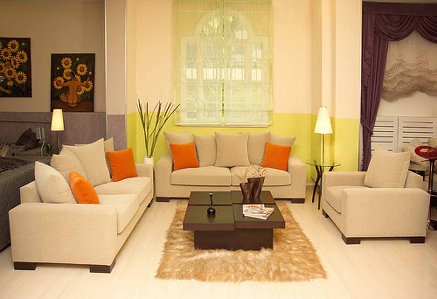 Well Known Cream Colored Sofas Inside Awesome Cream Colored Sofa 75 Sofa Design Ideas With Cream Colored (View 1 of 15)