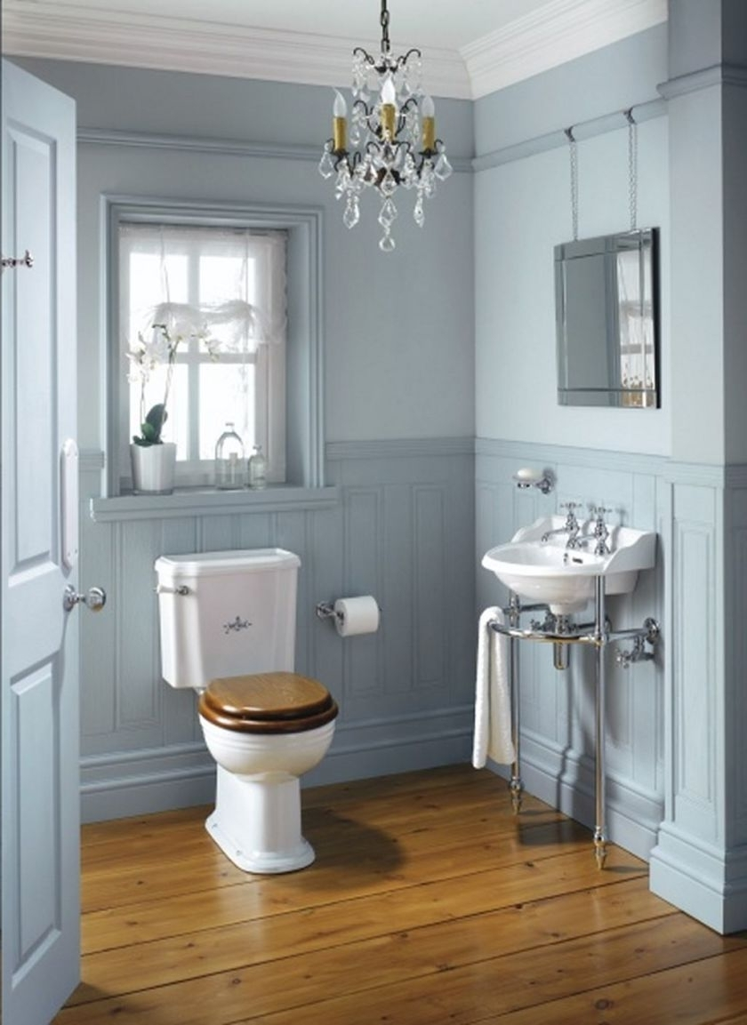 Featured Photo of Crystal Bathroom Chandelier