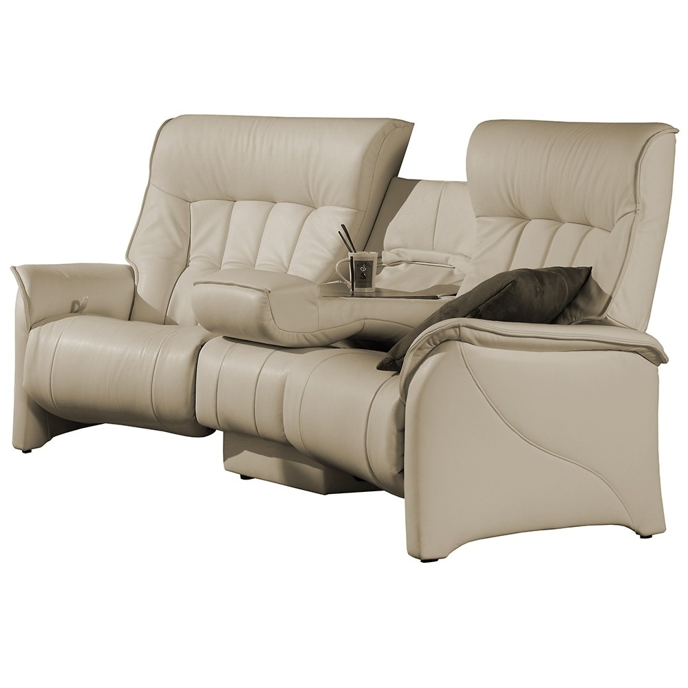 Well Known Curved Recliner Sofas Within Himolla Cumuly Rhine Curved 3 Seater Sofa – Leather Ranges (View 13 of 15)