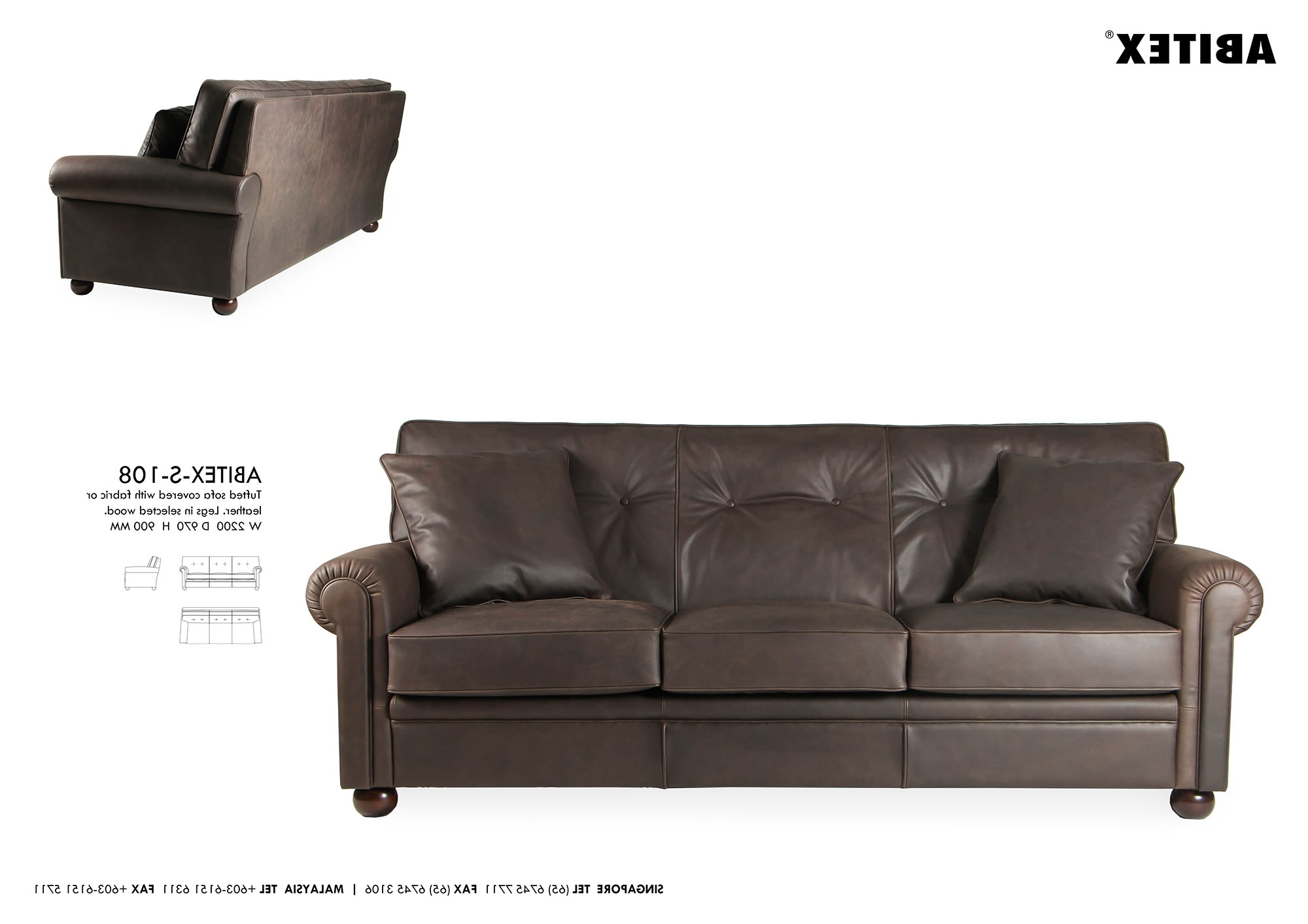 Well Known Dufresne Sectional Sofas With Regard To Furniture : Button Tufted Fabric Sofa Sofa Dallas Furniture Ottawa (View 2 of 15)