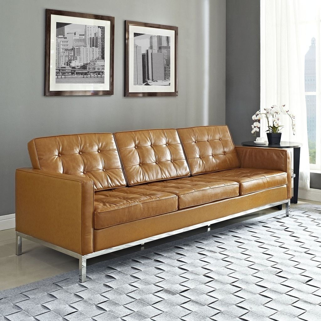 Well Known Florence Leather Sofas In Minimalist And Modern Chesterfield Sofa (View 13 of 15)