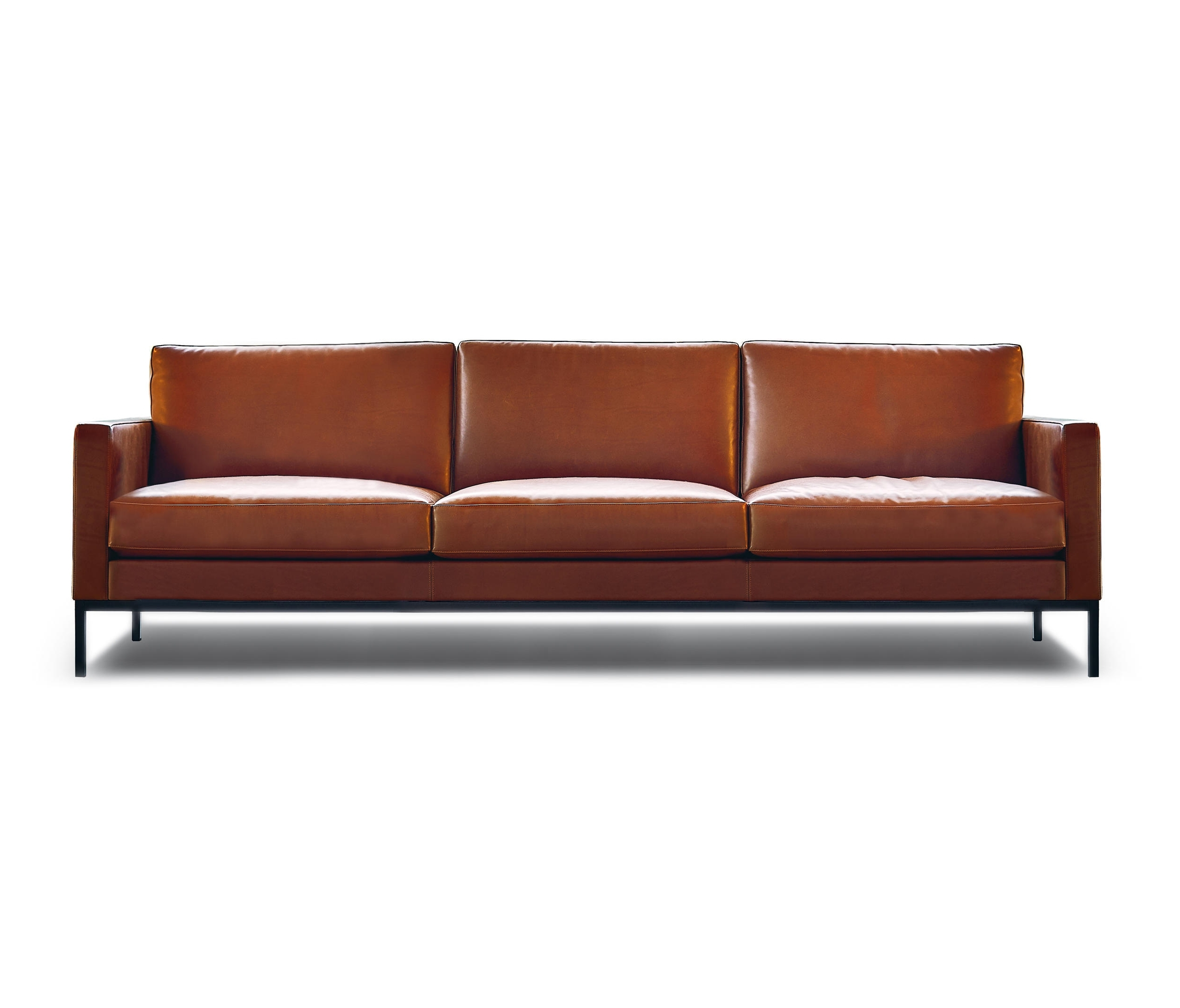 Well Known Florence Sofas And Loveseats Intended For Florence Knoll Lounge 3 Seat Sofa – Lounge Sofas From Knoll (View 6 of 15)