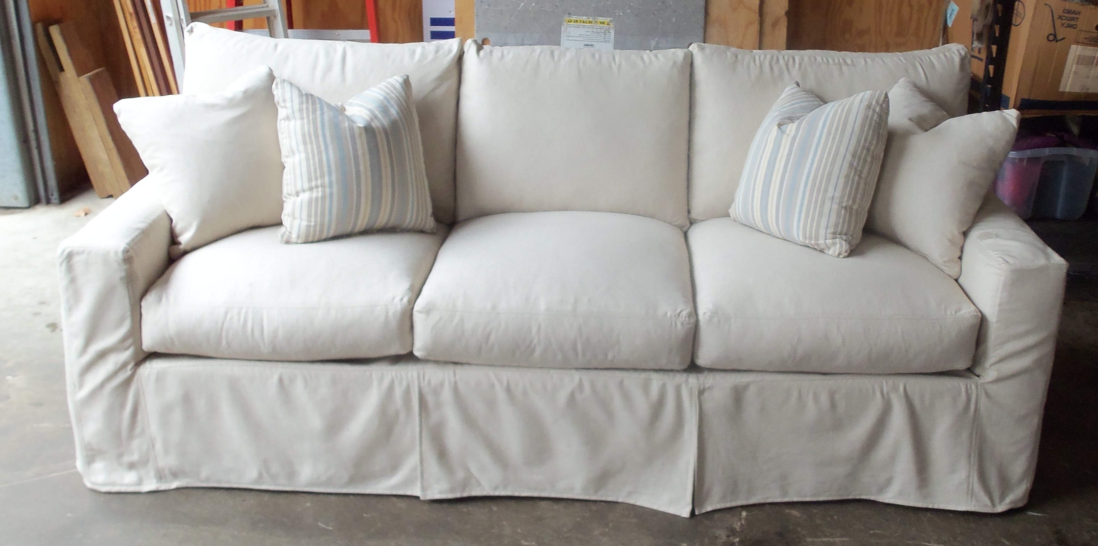 Well Known Furniture: Couch Outlet With Couch Slipcovers Intended For Slipcovers Sofas (View 13 of 15)