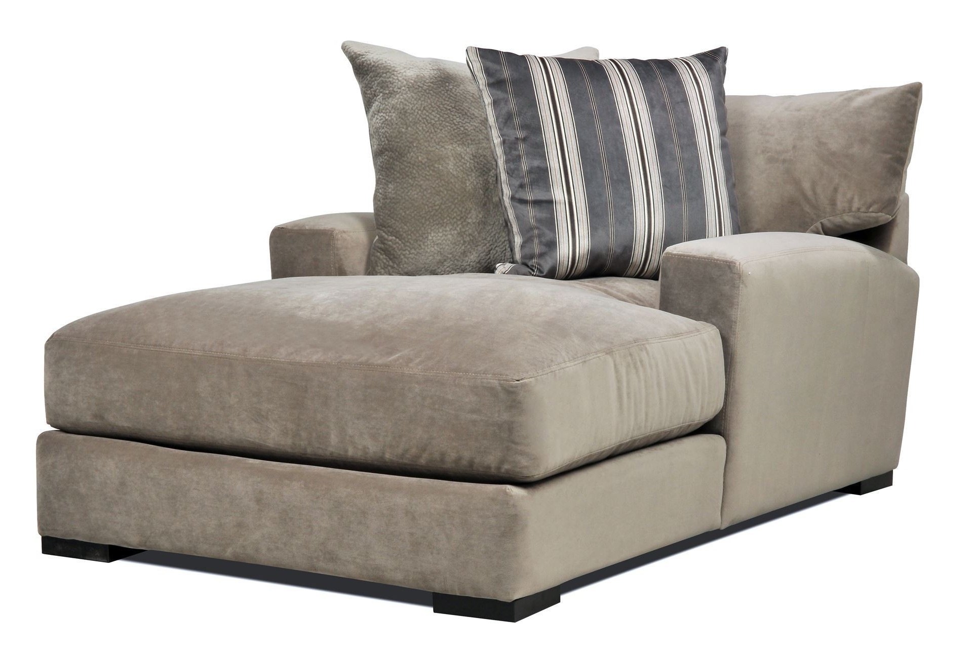 Well Known Furniture: One Arm Loveseat New Home Design Clubmona Wonderful Pertaining To Oversized Chaises (View 12 of 15)