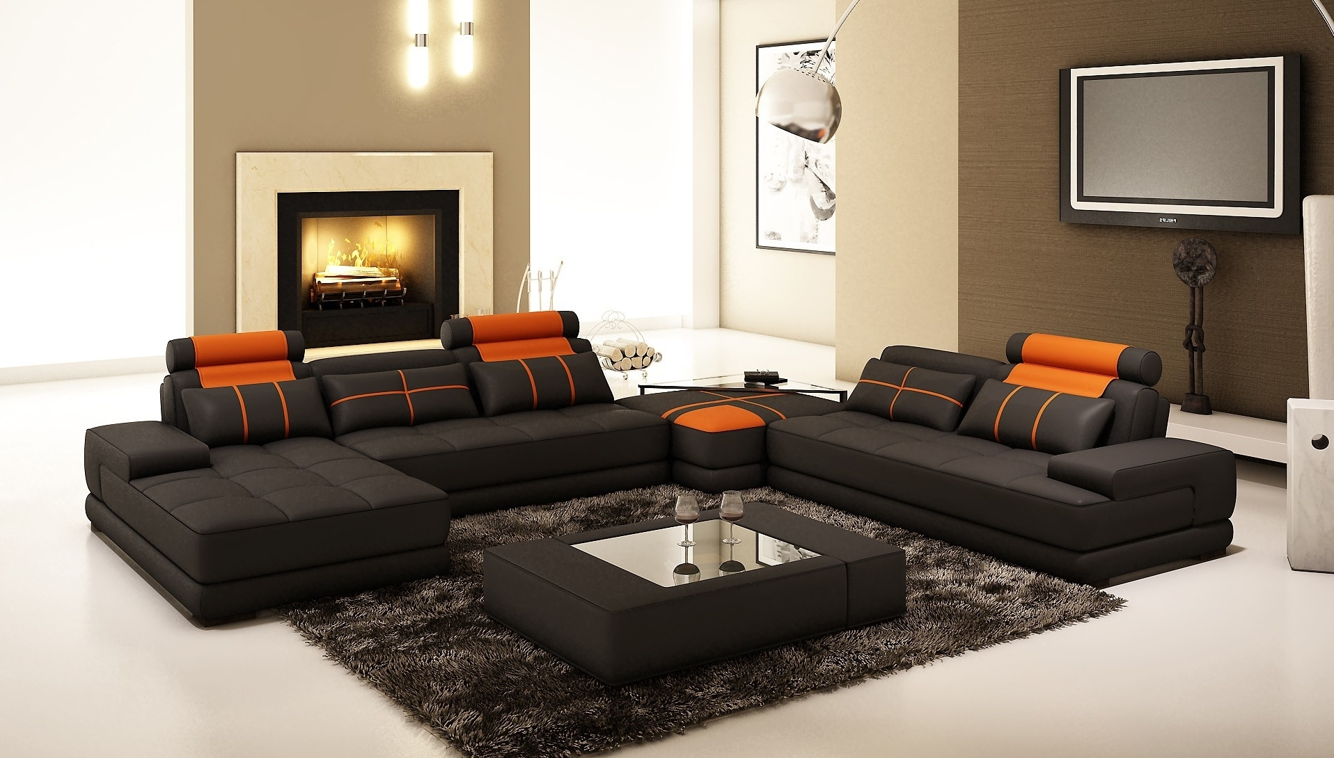 Well Known Furniture : Sectional Sofa 102 X 102 Corner Couch Black Recliner Pertaining To 102X102 Sectional Sofas (View 8 of 15)