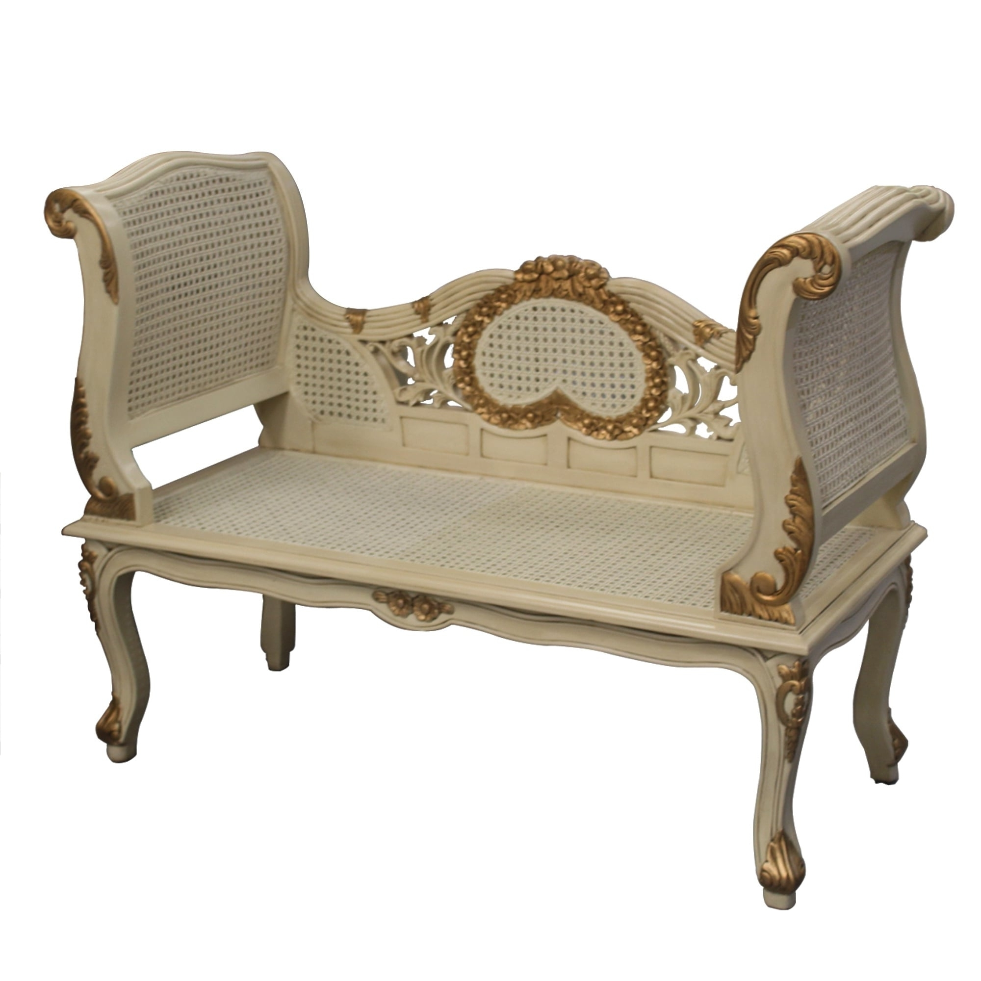 Well Known Gold And Cream French Style Sofa Within French Style Sofas (View 2 of 15)